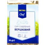 Сыр плавленный Metro Chef Сливочный 40% 90г
