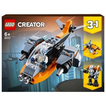 Конструктор Lego Creator Кібердрон - купити, ціни на Ашан - фото 2