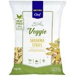 Metro Chef Veggie Shoarma Soy Strips 1kg