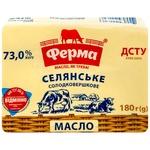 Масло Ферма Крестьянское солодковершкове 73% 180г