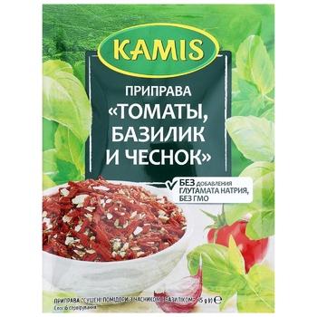 Приправа Kamis Томаты базилик и чеснок 15г