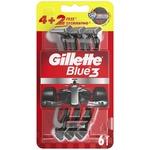 Станок Gillette Blue3 одноразовый мужской 6шт