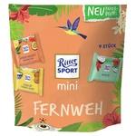 Набор шоколада Ritter Sport Bunte Tute Mini Fernweh ассорти из 3 вкусов 9шт 150г