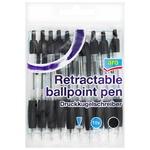 Ручки кулькові Aro чорні 10шт