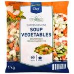 Смесь овощная Metro Chef Овощной суп свежезамороженная 1кг