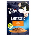 Food Felix with chicken in jelly for cats 85g Hungary