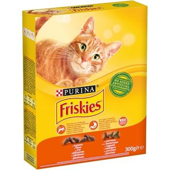 Корм Friskies сухой с курицей и овощами для взрослых кошек 300г - купить, цены на Космос - фото 1