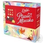 Конфеты шоколадные E.Wedel Птичье молоко с ванильной начинкой 380г