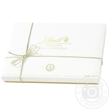 Набір шоколадних цукерок Lindt Pralines Du Confiseur Асорті 250г - купити, ціни на МегаМаркет - фото 1