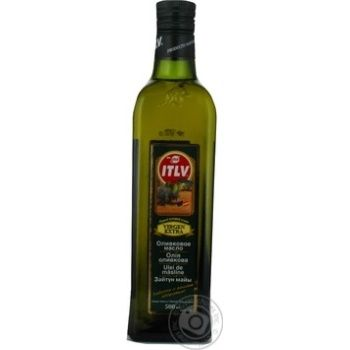 Oil Itlv olive extra virgin 500ml glass bottle - buy, prices for Novus - image 5