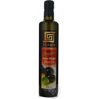 Масло Эллада оливковое экстра вирджин нерафинированное первого холодного отжима 500мл Греция