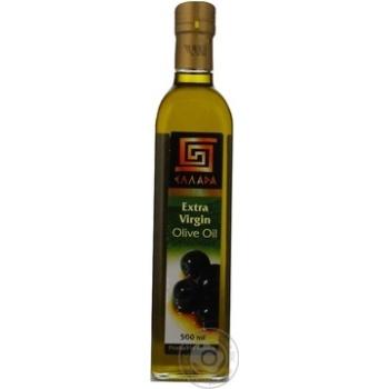 Масло Эллада оливковое экстра вирджин нерафинированное первого холодного отжима 500мл