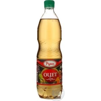 Уксус Руна столовый с ароматом яблока 9% 0,75л