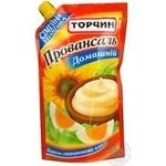 Mayonnaise Torchyn Homemade style 420g doypack Ukraine