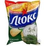 Чипсы Люкс картофель укроп 80г Украина