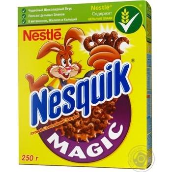 Коктейль шоколадно-молочний Nestle Nesquik Магія 250г