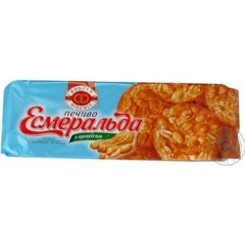 Печенье Roshen Эсмеральда с арахисом 150г