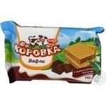 Вафлі Корівка з шоколадною начинкою Рот Фронт 150г