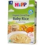 Dairy free porridge HiPP Bio rice sugar free for 4+ months babies 200g
