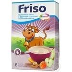 Каша детская Фрисо пшеничная с фруктами с детской молочной смесью с 6 месяцев 250г Нидерланды
