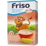 Каша кукурудзяно-рисова Friso з дитячою молочною сумішшю 250г