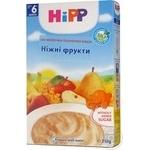 Каша дитяча ХіПП Ніжні фрукти пшенична біо-молочна з 6 місяців 250г