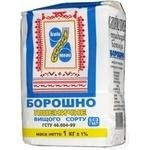 Мука Киев млин пшеничная высшего сорта 1 кг