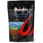 Natural instant sublimated coffee Jardin Colombia Medellin №5 170g Russia