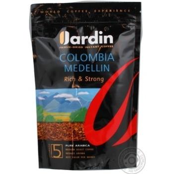 Кофе Жардин Колумбия Меделлин №5 натуральный растворимый сублимированный 170г Россия
