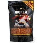 Natural instant sublimated coffee Jockey Imperial Arabica 190g Russia