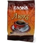 Instant coffee drink Galka Lux with an extract from chicory root 100g
