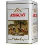 Black pekoe tea Azercay Buket large leaf 250g can Azerbaijan