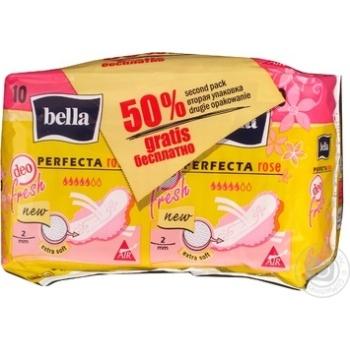 Bella Perfecta Rose Deo Fresh Pads
