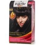 Фарба для волосся Palette Deluxe 900 Чорний