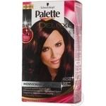 Крем-фарба для волосся Palette Deluxe P808 Елегантний Червоно-Каштановий