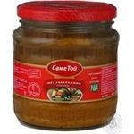 Caviar Same toi vegetable 440g glass jar Ukraine