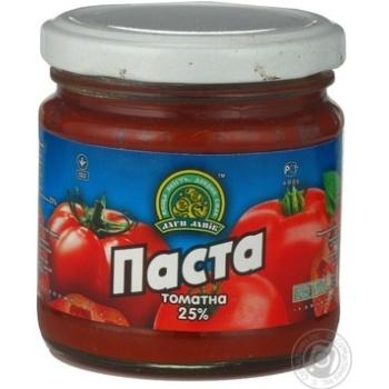 Паста томатна Дари Ланів 25% 200г - купити, ціни на МегаМаркет - фото 1