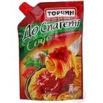 Соус Торчин к спагетти с итальянскими травами 230г Украина