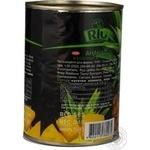 Ананаси Ріо шматочками в сиропі 580мл Таїланд - купити, ціни на Novus - фото 5