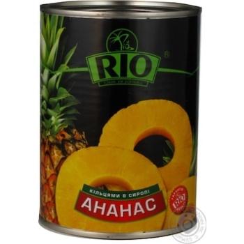 Ананаси Ріо кільцями в сиропі 580мл Таїланд - купити, ціни на Novus - фото 6