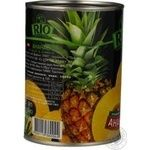 Pineapple slices Rio in syrup 580g Thailand - buy, prices for Novus - image 4