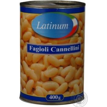 Фасоль Latinum Fagioli Cannellini 400г - купить, цены на Novus - фото 8