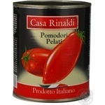 Vegetables tomato Casa rinaldi in own juice 800g can