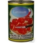 Vegetables tomato Latinum pieces 400g can