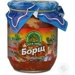 Cooking base Dary laniv with tomatoes canned for borscht 500g glass jar Ukraine