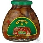 Mushrooms Toredo pickled 580ml glass jar China