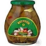Mushrooms cup mushrooms Toredo pickled 580ml glass jar China