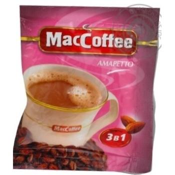 Кава MacCoffee Amaretto 18г x10