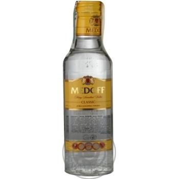 Водка Medoff Классическая Премиум 40% 0,2л - купить, цены на Фуршет - фото 3