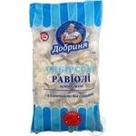 Равіолі Добриня Сибірські з яловичиною та свининою заморожені 1кг Україна